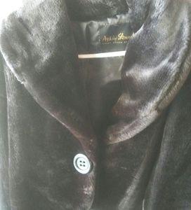Ashley Stewart fur coat